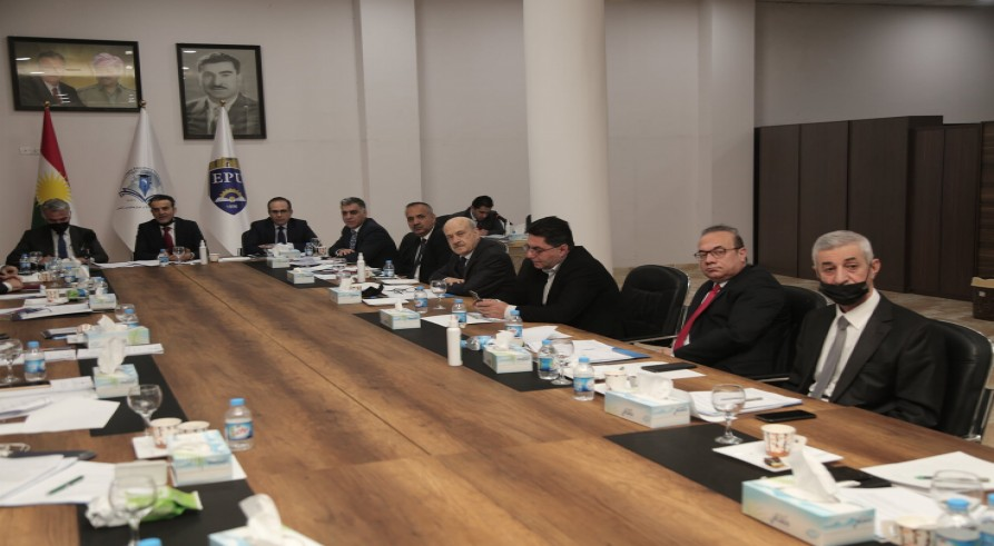 The Minister of Higher Education and Scientific Research Conducted a Meeting with Presidents of Universities